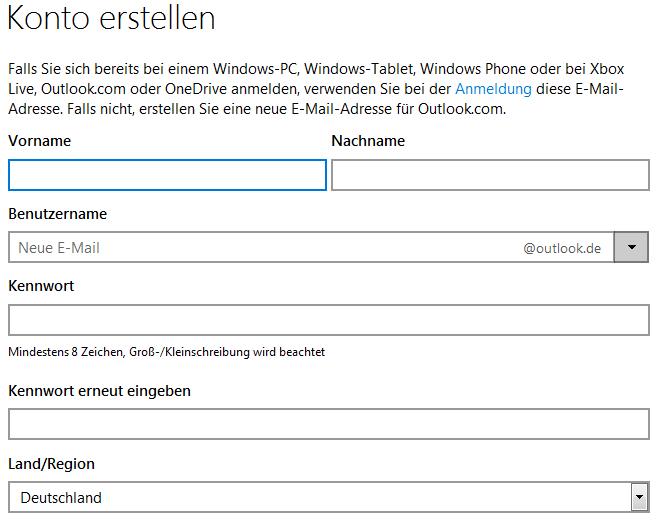 Hotmail.De Einloggen