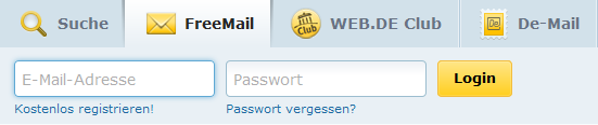 Web.de Free Mail Login