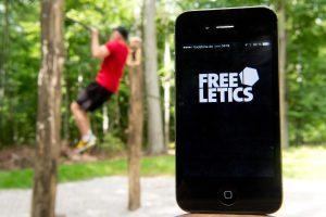 Bild Fitness-App